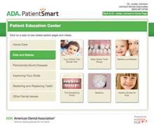 ADA PatientSmart – Patient Education Center