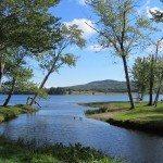 overlooking Senebec Lake in Appleton, Maine
