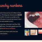 Crunchy numbers - Wordpress Jetpack Yearly Report -2014