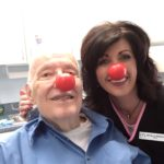 Art Thomas and Michelle Red Nose Day 2016
