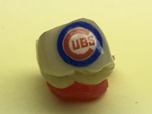 Chicago Cubs Tooth Tattoo