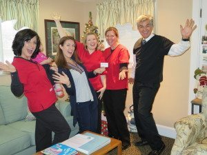 QDP Winner Crystal Baughman with Seasons of Smiles Team