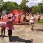 """The """"red"""" station - Color Run 2017 Rockport Maine"""