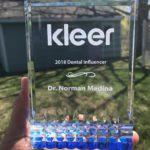 Kleer 2018 Dental Influencer Dr. Norman Medina
