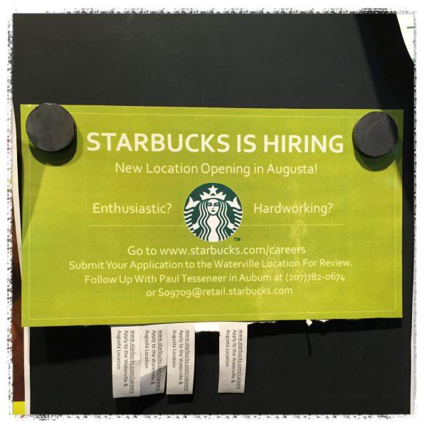 Starbucks is Hiring