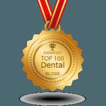 We're #30. Top 100 Dental Blogs