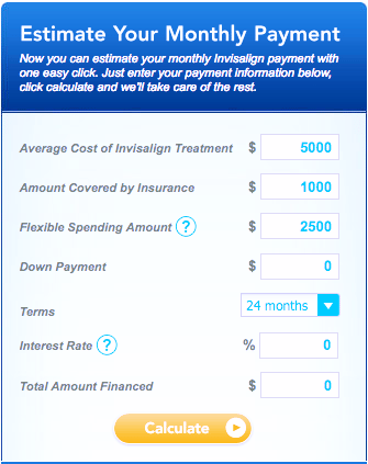 Invisalign Cost Calculator for Rockland Maine